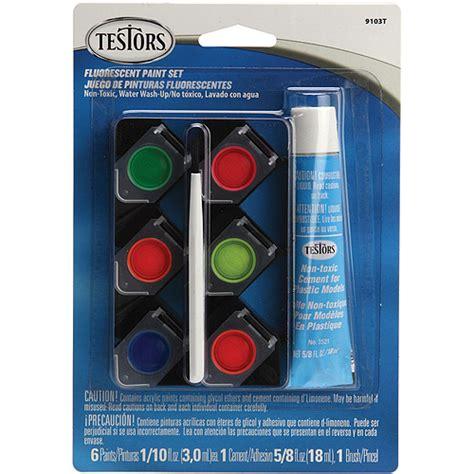 acrylic paint set walmart testors fluorescent acrylic paint set walmart