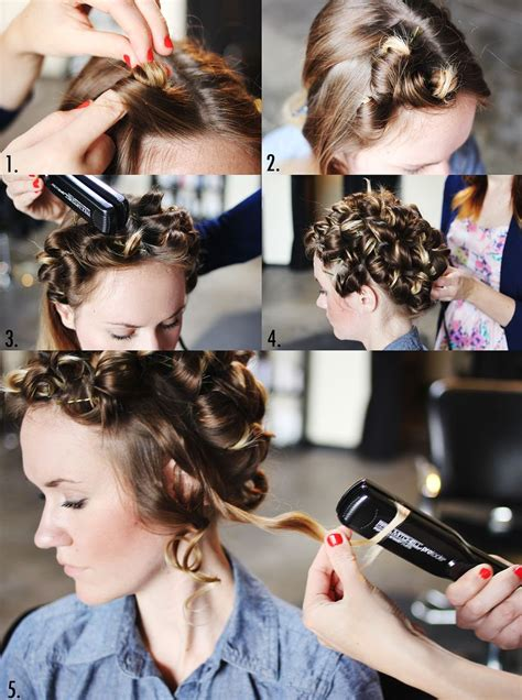 How To Curl Hair by How To Style Flat Iron Curls A Beautiful Mess