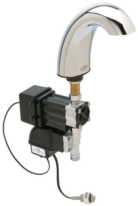 Zurn Sensor Faucet by Faucet Sensor Has Concealed Lens Retrofit
