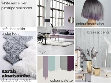 Vbm091 Blue Gold White Grey purple and grey bedroom makeover for my interior