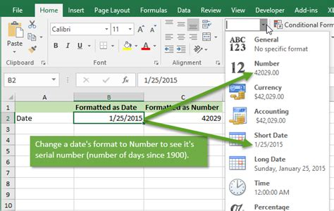format date range in excel how dates work in excel the calendar system explained