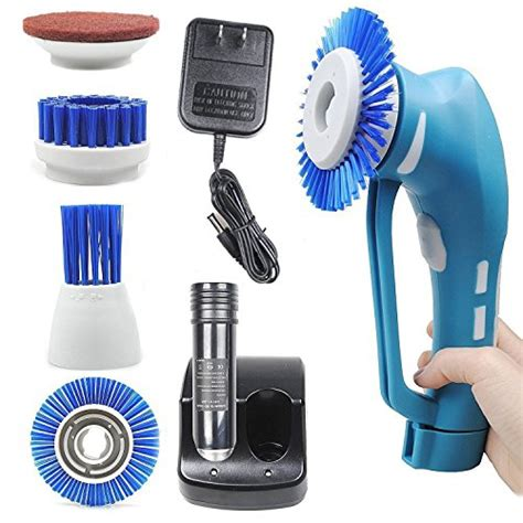 bathroom scrubbers cordless spin scrubber cordless household power scrubber with