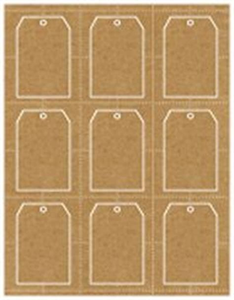 printable brown kraft tags print your own rustic brown kraft gift tags perfect for