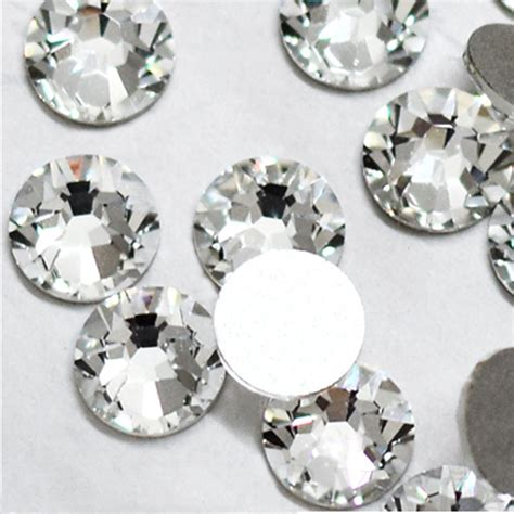 Rhinestone Clear deal shiny 1440pcs ss3 to ss10 non hotfix rhinestone