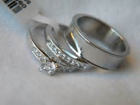 wedding ring set his and hers 3 his and hers wedding ring set couples wedding
