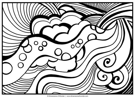 coloring pages modern art abstract coloring pages free large images