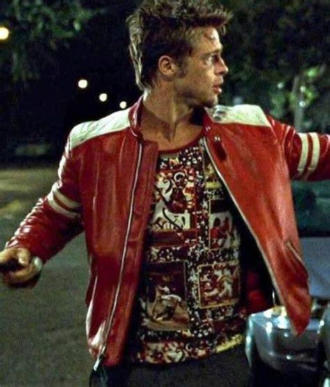 brad pitt fight club jacket brad pitt fight club red jacket