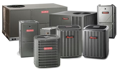 goodman air conditioner brands air conditioning and heating on sale