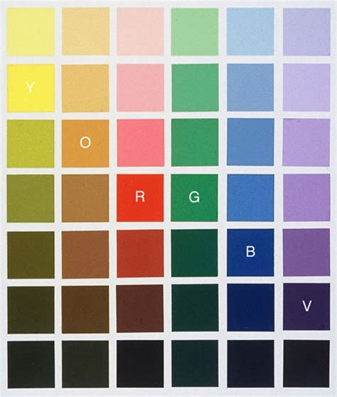color values matching colors painting techniques