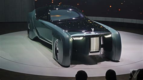 rolls royce concept car get inside rolls royce s vision 100 concept