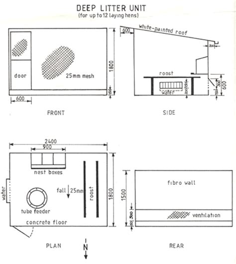 Small Chicken Coop Chook Pen Plans Free Chicken House Blueprints Free