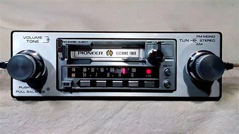 cassette car stereo vintage pioneer ke 2000 am fm cassette car stereo