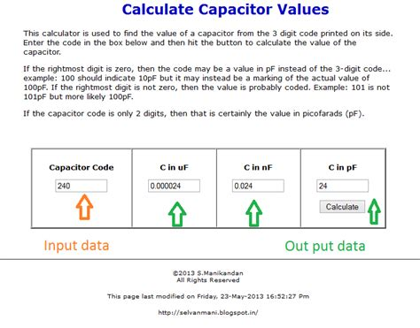 capacitor calculator software free capacitor code calculator apk 28 images capacitors tutorial smd capacitor code calculator