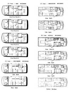 Gmc Motorhome Floor Plans Gmc Motorhome 2