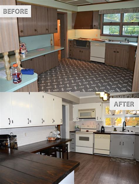 cheap kitchen renovation ideas this famhouse one year later the rodimels family