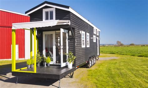 mint tiny homes mint tiny house with built in patio