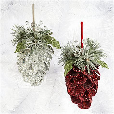 pine cones on pinterest pinecone ornaments glitter and