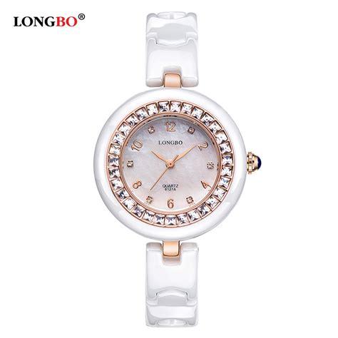 Jam Tangan Wanita Mewah Gucci Keramik top brand longbo jam tangan wanita mewah jam