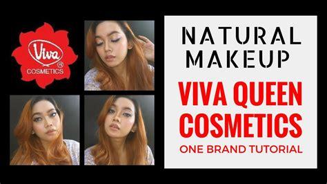 Tutorial Make Up Viva Quen | one brand make up tutorial 8 natural makeup untuk