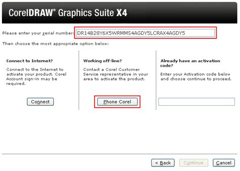 corel draw x4 registration code download corel x4 activation code serial free