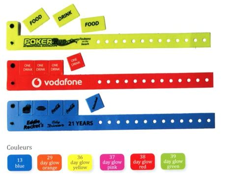 Bracelet inviolable personnalisable   objet publicitaire   Grossiste