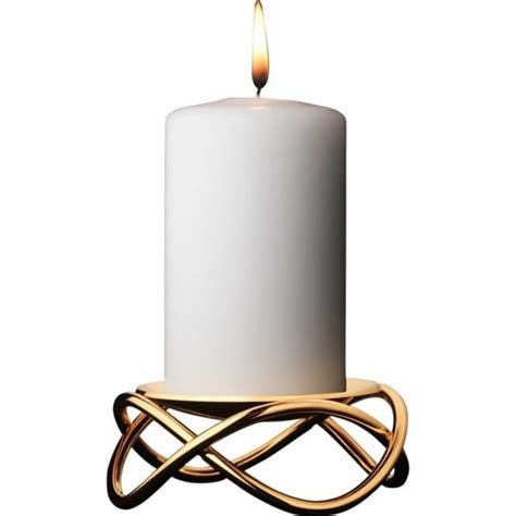 glow candle holder by georg made in stainless steel - Georg Kerzenhalter