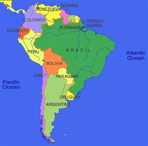 location of america in world map world map interactive south america