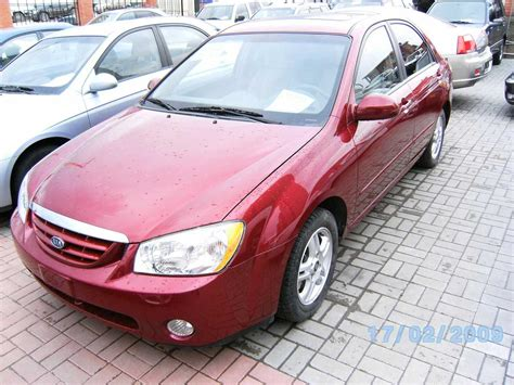 2005 Kia Spectra Price 2005 Kia Spectra Pictures 2000cc Gasoline Ff Manual