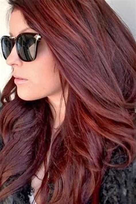 hair powder dark brown hair color with red highlights dark dark brown red hair color 2014 sheila pinterest red