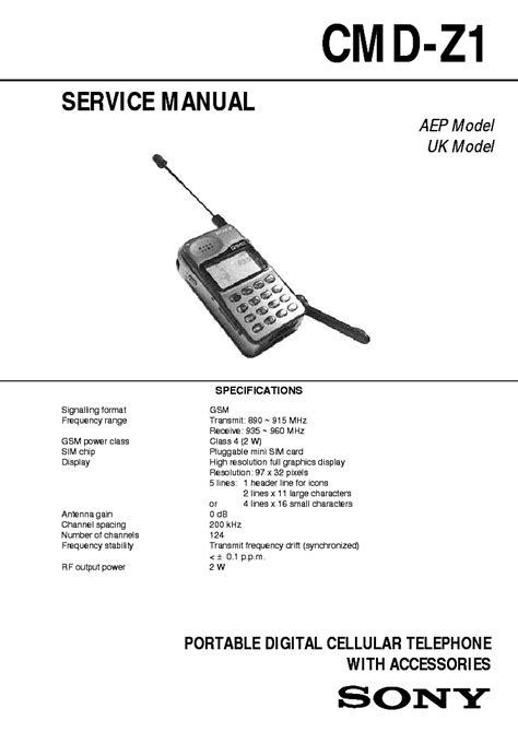 Sony Ericsson K530i Mechanical Service Manual Free