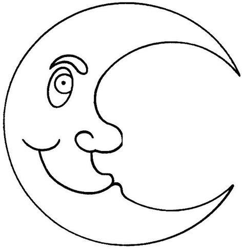 imagenes para colorear luna image gallery luna dibujo