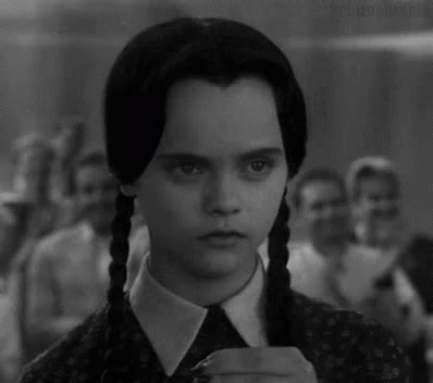how wednesday addams would react to catcalling wednesday addams drink addams family gif wednesdayaddams