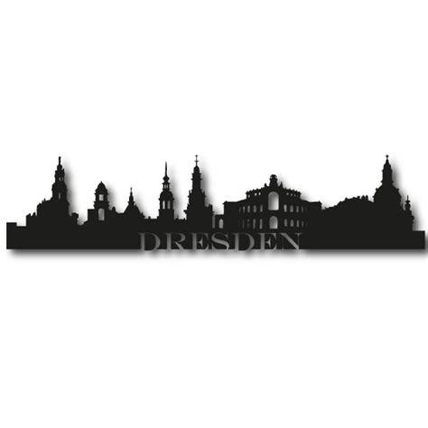 Aufkleber Auto Dresden by Dresden Logo Silhouette Skyline Autotattoo Sticker