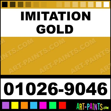 imitation gold aquacote enamel paints 01026 9046 imitation gold paint imitation gold color