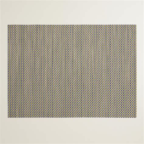 Get Cheap Woven Vinyl Placemats by Blue And Gold Central Park Woven Vinyl Placemats Set Of 4