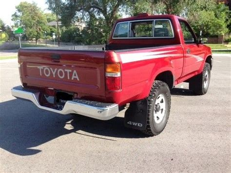 94 Toyota Tacoma Purchase Used 94 Toyota 4x4 Deluxe 73kmi