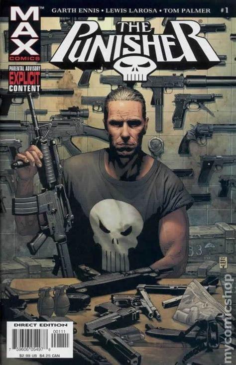 punisher max by garth punisher 2004 7th series max comic books