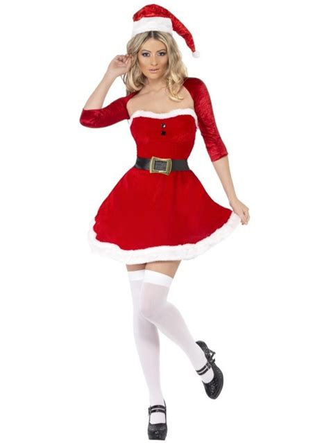 mrs claus to buy fever mrs claus costume buy at funidelia