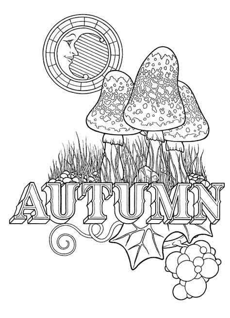autumn equinox coloring page stephen barnwell illustration equinox coloring book