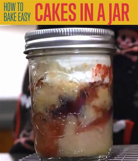 diy cake in a jar how to bake cake in a jar recipe diy ready