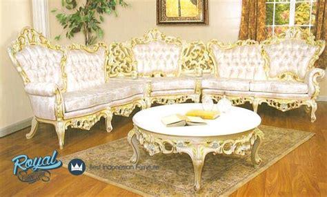 Kursi Cellini set sofa ruang tamu ukir mewah terbaru gold royal