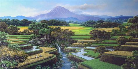 gambar pemandangan alam  keren  wallpaper gambar