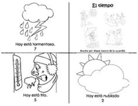 weather pattern in spanish 1000 images about kindergarten spanish patterns of