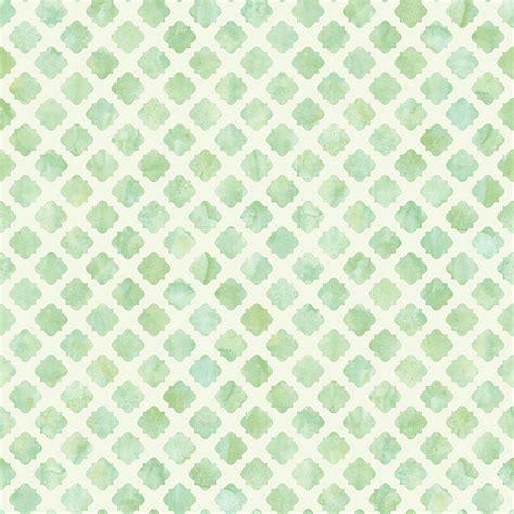 Ballard Designs Chevron Rug watercolor tile wallpaper green white double roll