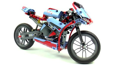 Lego 42036 Technicstreet Motorcycle Technic lego technic 42036 motorcycle speed build and review