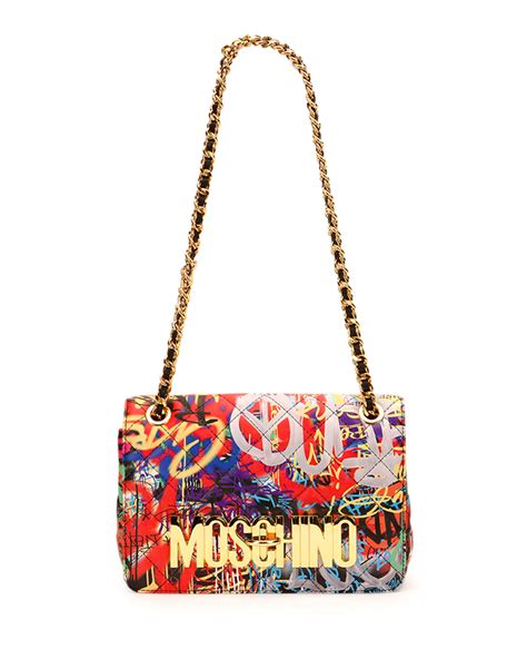 Moschino Bag moschino do not enter shoulder bag in lyst
