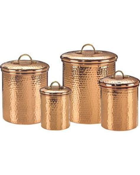hammered copper canister 4 pack by old dutch fab com 89 best images about copper on pinterest copper pots
