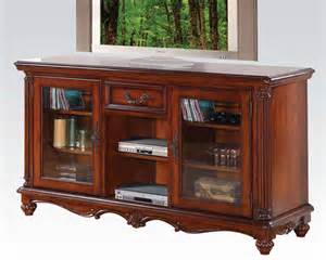 tv stands furniture acme furniture tv stand in traditional style ac91495