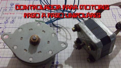 paso a paso controlador para motores paso a paso unipolar