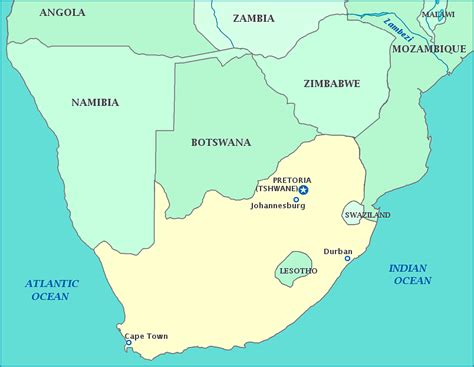 yourchildlearns africa map htm south africa map of africa